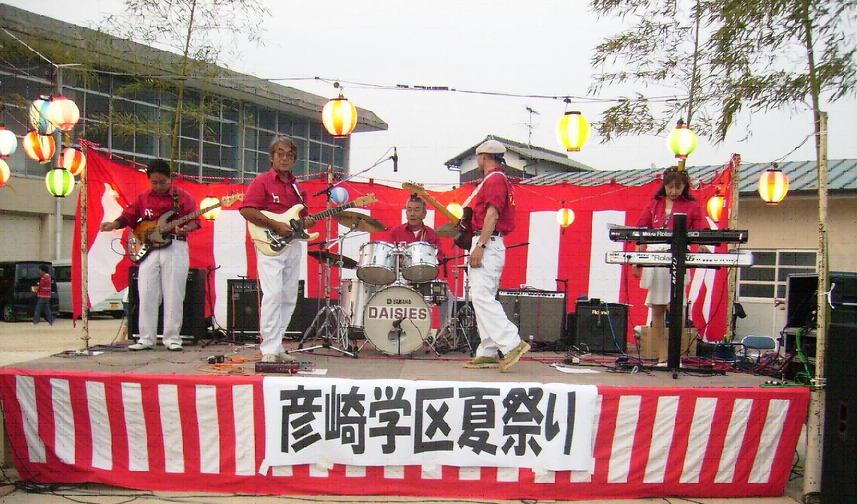 生バンド演奏