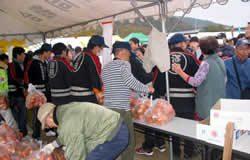 柿販売(人気の赤袋)