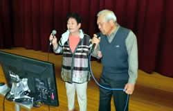 演歌、民謡、詩吟の競演会