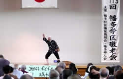 どじょうすくい踊り(一人)