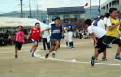 小学生町別対抗リレー(決勝5位)