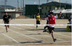 男子21歳以上(100m走)