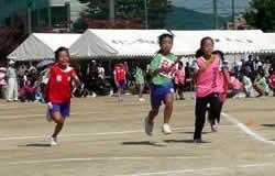 小学生町別対抗リレー(予選2位)