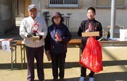 優勝者(総合、女性、小学生)