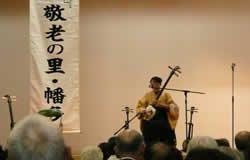 津軽三味線と唄