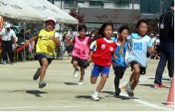 小学生町別対抗リレー(予選1位)