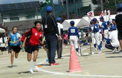 小学生町別対抗リレー(予選)