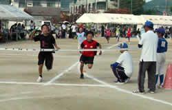 小学生町別対抗リレー(決勝)