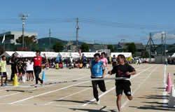 男子41歳以上(100m走)