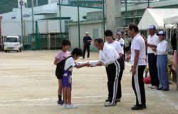 小学生町別対抗リレー:準優勝