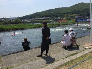 カヌー大会 全国から集まったアスリートが技を競う