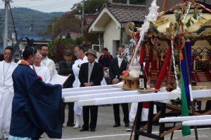 福渡の秋祭り