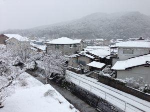 福渡の雪景色