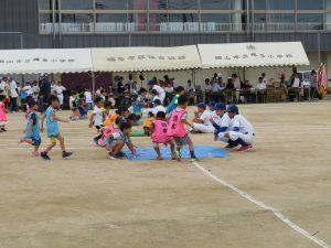 幼稚園児の競争