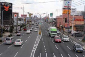 平井のメイン道路