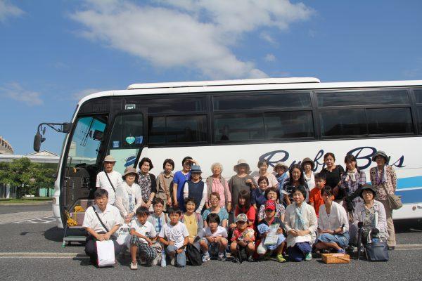 バスツアー参加者