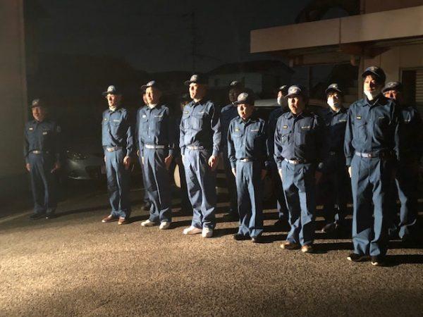 パトロール隊のメンバー