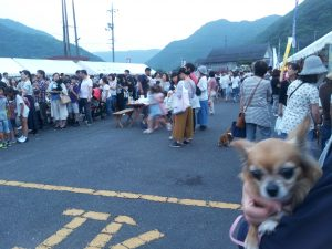 宇甘西ホタル祭り