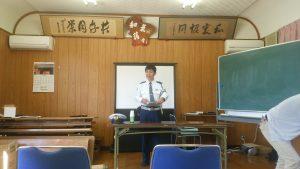 岡山北警察署のおまわりさん