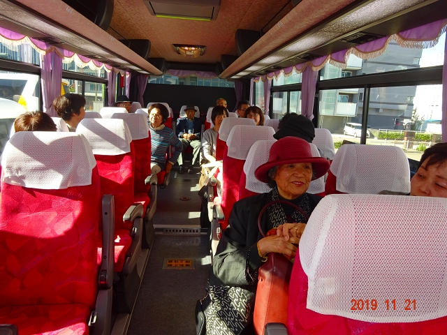 金沢駅からバスで移動