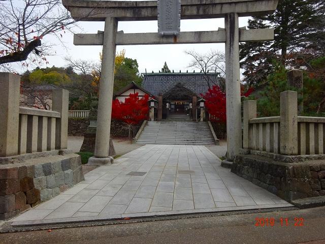 東茶屋街内の神社