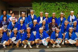 第36回 夏まつり旭川荘 牧石連合・中原町内会男子連 盆踊り参加
