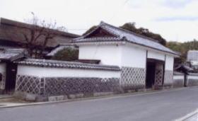 旧足守藩侍屋敷(県指定重要文化財)木下家の国家老の屋敷。