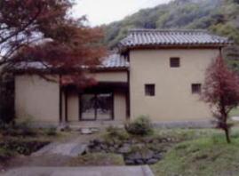 木下利玄の生家(県指定史跡)