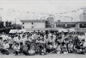 旧出石小学校でのイベントの様子1