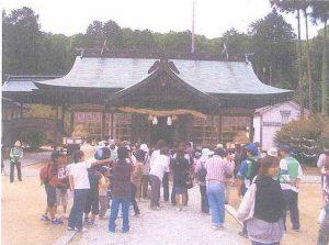安仁神社(祭神は神武天皇の兄・五瀬の命)