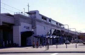 高架鉄道と大元駅