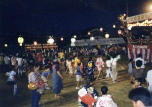 東畦夏祭り 毎年しています