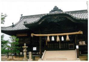 「幸島稲荷神社」  学区民の氏神様