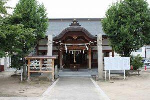 岡山市域では最も社歴の古い伊勢神社