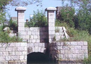 片崎樋門(岡山県指定重要文化財)