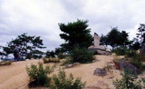 三勲神社跡(操山山頂)