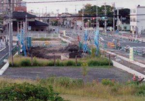 完成が待たれる津島・青江線の開通と大供地区区画整理事業 1