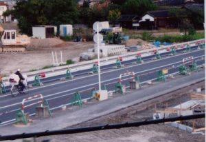 完成が待たれる津島・青江線の開通と大供地区区画整理事業 2