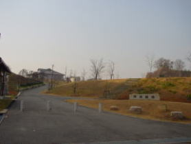 西村町内の「緑地公園」