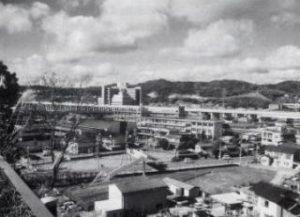 横井学区を一望する眺め