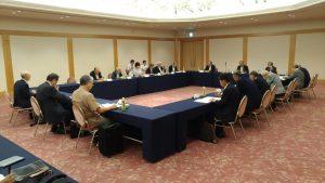 令和元年度全国自治会連合会第3回常任理事会及び第2回理事会等の開催並びに表敬訪問について