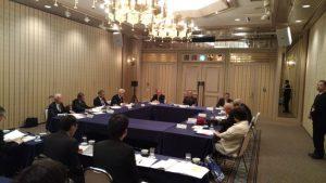 全国自治会連合会常任理事会 常任理事会の様子
