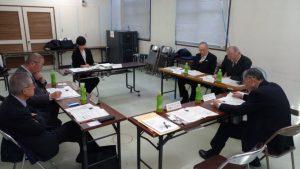 会津若松市区長会との交流 意見交換の様子