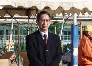 富山中学校江口校長の来賓挨拶