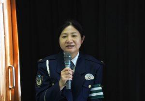 蓮尾恵子巡査部長