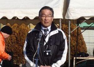 富山小学校平松校長の来賓挨拶