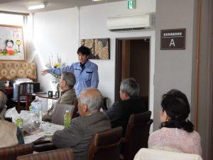 岡山市危機管理室 三浦優大さんの講話