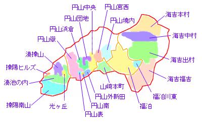単位町内会一覧図