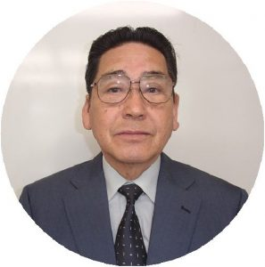富山学区連合電子町内会会長 小橋一郎