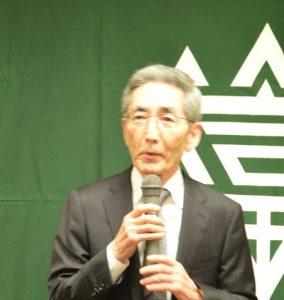 平井連合町内会副会長の閉会の挨拶